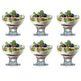 Jogo de taças sobremesa em vidro Ruvolo Paradise 6 peças 282ml