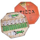 Jogo de Utensílios Para Pizza Tramontina Verde 25099/222 14 Peças