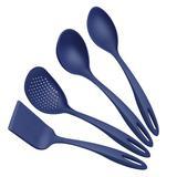 Jogo De Utensílios Tramontina Ability 25199101 Nylon 4 Peças Azul