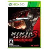 Jogo Ninja Gaiden 3: Razors Edge - Xbox 360 - Koei tecmo holdings