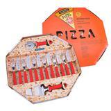 Jogo Para Pizza Vermelho 14 Peças - Tramontina