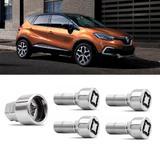 Jogo Parafuso Antifurto Renault Captur M12x1,5 - Rodafuso