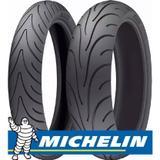 Jogo Pneu Moto Michelin 120/70 R17 + 180/55 R17 Pilot Road 2