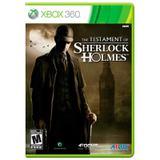 Jogo The Testament of Sherlock Holmes - Xbox 360 - Atlus