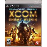 Jogo XCOM: Enemy Within - PS3 - Take two