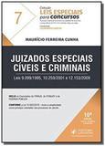 Juizados Especiais Cíveis e Criminais - Vol.7 - Coleção Leis Especiais Para Concursos - Juspodivm