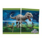 Jurassic World Painel 4 Laminas - Festcolor
