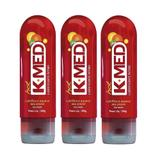 k-med hot gel íntimo - Cimed - kit 3x 200g