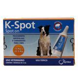 K-Spot Antipulgas e Carrapatos Cães 15 a 22,5kg (6,0ml) - Syntec