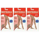 Kendall 1633 Meia Calça Média Compressão Mel G (Kit C/03)