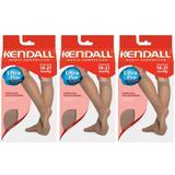 Kendall 1671 Meia 3/4 Média Compressão Mel P (Kit C/03)