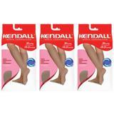 Kendall 1672 Meia 3/4 Média Compressão Mel M (Kit C/03)