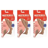 Kendall 1673 Meia 3/4 Média Compressão Mel G (Kit C/03)