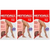 Kendall 1703 Meia Calça Média Compressão S/ Ponteira Mel G (Kit C/03)