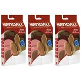 Kendall 1843 Meia 7/8 Média Compressão 7/8 Máscara Bege G (Kit C/03)