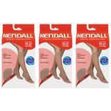Kendall 1873 Meia 3/4 Média Compressão S/ Ponteira Mel G (Kit C/03)