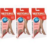 Kendall 1877 Meia 3/4 Média Compressão S/ Ponteira Mel Gg (Kit C/03)