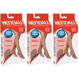 Kendall 1878 Meia Curta Média Compressão S/ Ponteira Mel Xg (Kit C/03)
