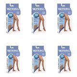 Kendall 2262 Meia Calça Suave Compressão S/ Ponteira Mel M (Kit C/06)