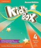 Kids Box 4 - Activity Book With Online Resources - 02 Ed - Cambridge
