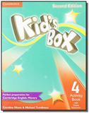 Kids box 4 activity book with online resources - d - Cambridge