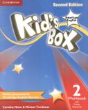 Kids box american english 2 wb with online resources - 2nd ed - Cambridge university