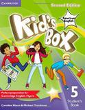 Kids box american english 5 sb - 2nd ed - Cambridge university