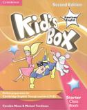 Kids box american english starter class book - 2nd - Cambridge university