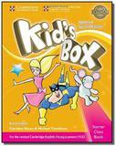 Kids box starter cb with cd-rom - british - update - Cup - cambridge university