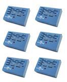 Kit 06 Aparelho Anti Mofo Elétrico Eletrônico 110v Cor Azul Ácaro Fungos Bolor Legon Bye Mofo 110v