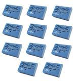 Kit 08 Aparelho Anti Mofo Elétrico Eletrônico 110v Cor Azul Ácaro Fungos Bolor Legon Bye Mofo 110v