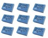 Kit 09 Aparelho Anti Mofo Elétrico Eletrônico 220v Cor Azul Ácaro Fungos Bolor Legon Bye Mofo 220v