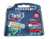 Kit 10 Aparelho Monange Best 3 + Refil (2 Cargas) - Drf distribuidora ltda