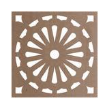 Kit 10 peças Painel Vazado Cobogó MDF modelo Grécia - Bezalel madeiras