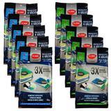 Kit 10 Sacos Organizadores a Vácuo Para Viagem 40x60cm 50x70cm Roupa Mala Protetor Com Zíper - Clink