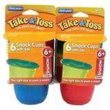 Kit 12 potes papinha e fruta com tampa 1330ml 1st years - The first years