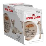 Kit 12 Sachê Royal Canin Gravy Ageing +12 85g