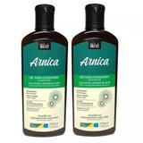 Kit 2 Gel para Massagem Muscular Arnica com Mentol e Salicilato de Metila SoftHair