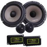 Kit 2 Vias Audiophonic KS 6.2 (6 pols. / 130W RMS)