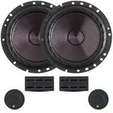 Kit 2 Vias Bravox 6 Pol Premium Cs60p - 120w Rms O Par