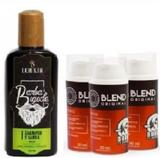 Kit 3 Blends Barba De Respeito  + Shampoo Lorkin - 140ml