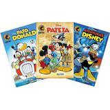 Kit 3 Revistas Gibi Em Quadrinhos Nº 0 Hq Disney 2019 - Disney comics