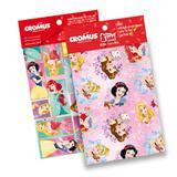 Kit 30 Sacos Presente C/Laço Cartão Princesas Disney 25X37Cm - Cromus