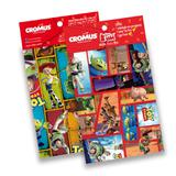 Kit 30 Sacos Presente C/Laço Cartão Toy Story Disney 25X37Cm - Cromus