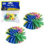Kit 4 brinquedos para gato pom pom - Western pet