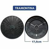 Kit 4 Filtros de Carvão Ativado p/ Coifa Tramontina Vetro