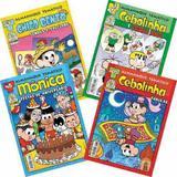 Kit 4 Gibi Hq Almanaque Temático Turma Da Mônica 39 41 42 43 - Panini comics