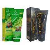 Kit 4 Pomada Canela De Velho Gel Massageador + 4 Fisiofort Premium Arnica - Bio instinto