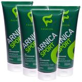 Kit 4 Und Arnica Sport Gel Massageador 200ml - Fashion