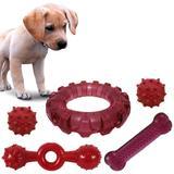 Kit 5 Brinquedos Para Cachorro Mordedor Para Cães - Rb pet